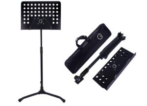 Crafty Gizmos Deluxe Adjustable Folding Music Stand with Carrying Bag