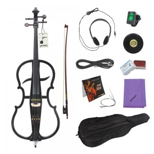 ammoon 4/4 Solid Wood Electric Cello
