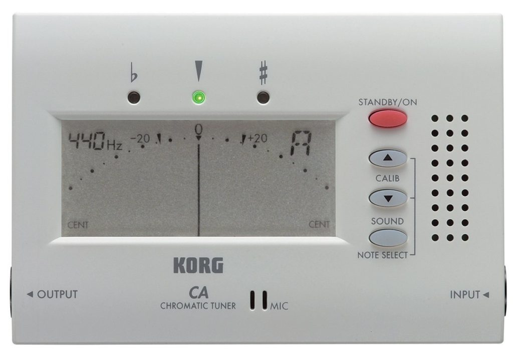 Korg CA40 Large Display Auto Chromatic Tuner