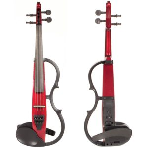 Yamaha SV-130 Concert Select Silent Electric Candy Apple Red 4/4 Violin