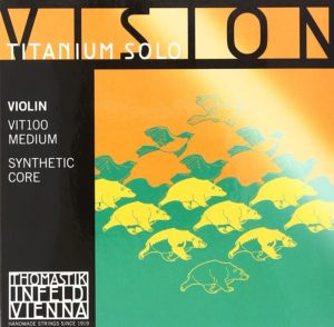 Thomastik-Infeld VIT100 Vision Titanium Solo Violin Strings