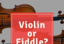 violin or fiddle