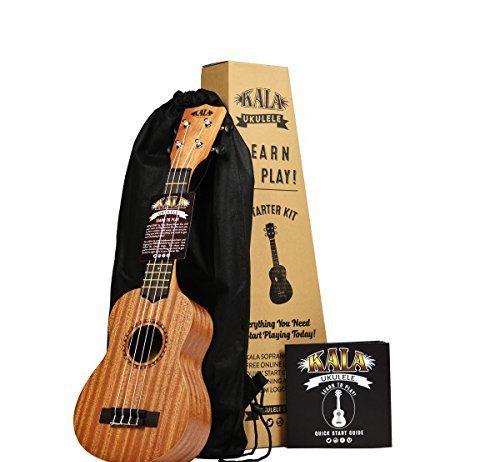 Official Kala Learn to Play Ukulele Starter Kit
