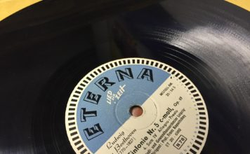 beethoven's fifth record disc