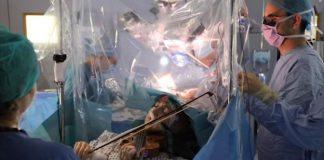 violinist brain surgery