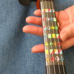 violin finger guide