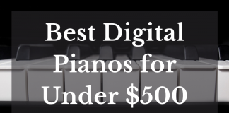 Best Digital Pianos For Under $500