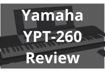 Yamaha Ypt 260 Review