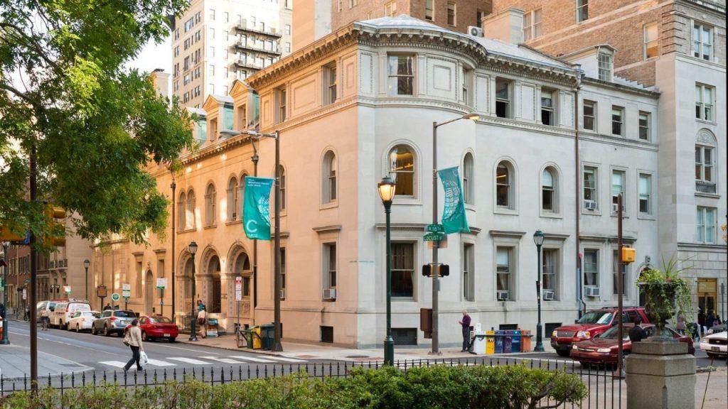Exterior building of Curtis Institute Of Music