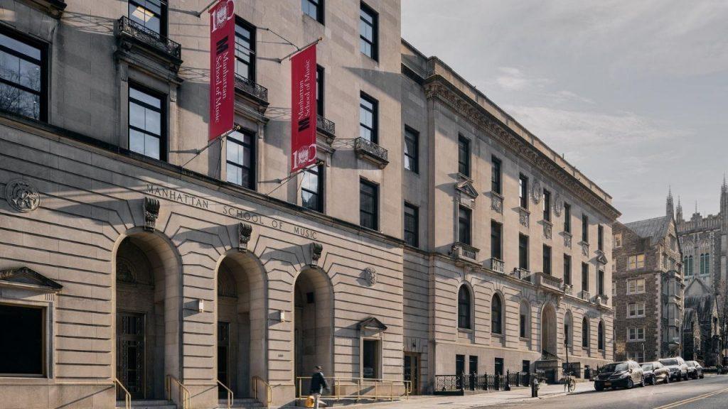 Exterior of Manhattan School Of Music