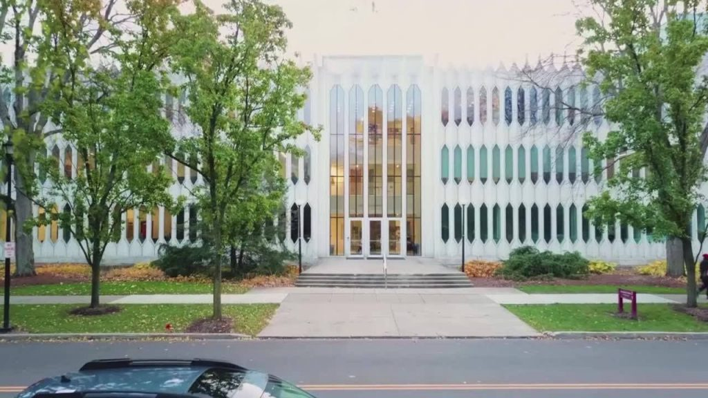 Building of Oberlin Conservatory Of Music, one of the best music schools in the US