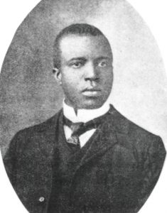 photo of Scott Joplin who is considered as one the best and famous black composers in music