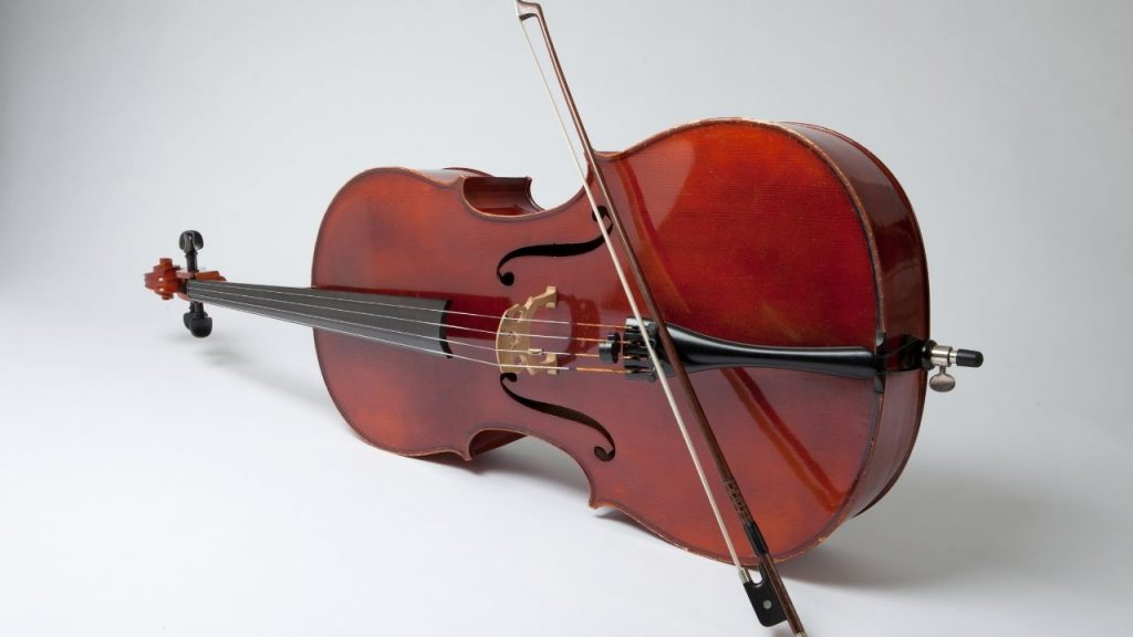 A picture of the modern cello from Orchestra Centra's History of the Cello blog