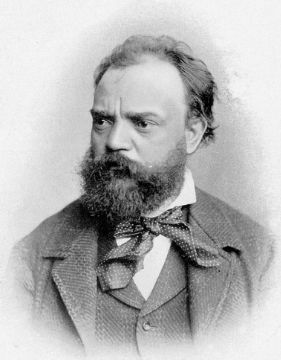 Picture of Antonín Dvořák,one of the greatest Czech composers