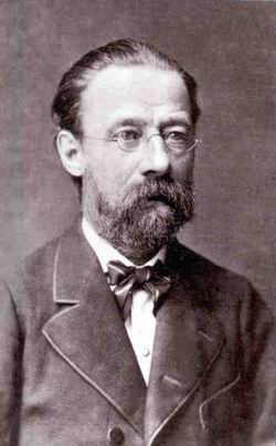 a photo of Bedřich Smetana also one of the most famous Czech composers