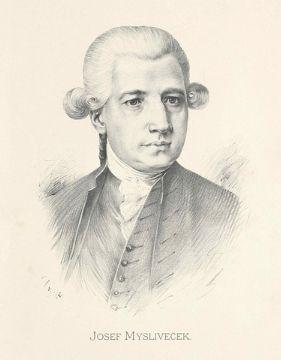 photo of Josef Mysliveček, one of the most Czech composers