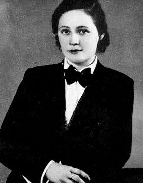picture of Czech composer Vítězslava Kaprálová