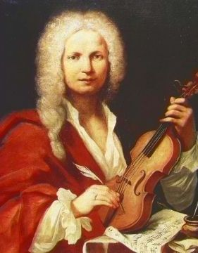 Baroque composer Antonio Vivaldi