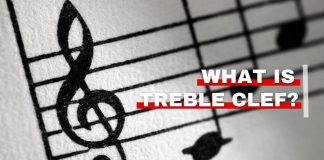 Orchestra Central's featured image for what is treble clef article
