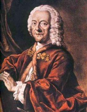 Georg Phillip Telemann's portrait