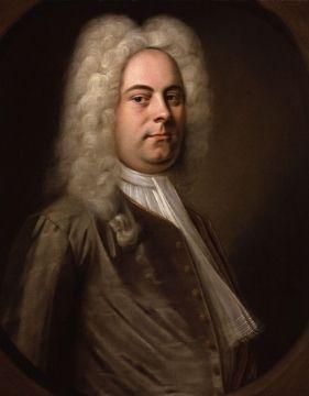 A portrait of Baroque composer George Frideric Handel