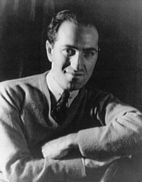 A picture of George Gershwin
