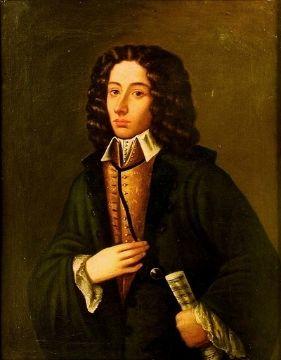 A portrait of Giovanni Battista Pergolesi