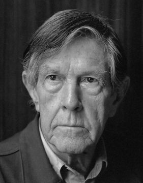 A photo of John Cage