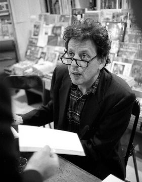 A photo of Philip Glass